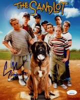 "Chauncey Leopardi Signed ""The Sandlot"" 8x10 Photo Inscribed ""Squnits"" (JSA COA) at PristineAuction.com"