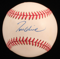 Tom Glavine Signed ONL Baseball (JSA COA) at PristineAuction.com
