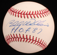 "Billy Williams Signed OML Baseball Inscribed ""H.O.F. 87"" (JSA COA) at PristineAuction.com"
