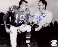 Don Shula & Johnny Unitas Signed Colts 8x10 Photo (JSA COA) at PristineAuction.com