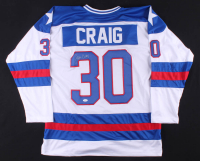 Jim Craig Signed Jersey (JSA Hologram) at PristineAuction.com