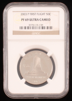 2003-P 50C First Flight Half Dollar Commermorative Coin (NGC PF69 Ultra Cameo) at PristineAuction.com