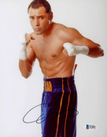 Oscar De La Hoya Signed 8x10 Photo (Beckett Hologram) at PristineAuction.com