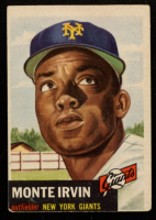 Monte Irvin 1953 Topps #62 at PristineAuction.com