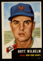 Hoyt Wilhelm 1953 Topps #151 at PristineAuction.com