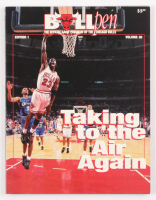 1995 Michael Jordan Bulls Game Program at PristineAuction.com