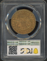1857 $20 Liberty Gold Coin (PCGS XF 40) at PristineAuction.com