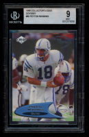 Peyton Manning 1998 Collector's Edge Odyssey #60 RC (BGS 9) at PristineAuction.com
