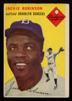 Jackie Robinson 1954 Topps #10 at PristineAuction.com