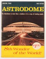 1966 Astrodome Program at PristineAuction.com