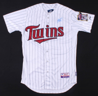 Joe Mauer Signed Twins Jersey (Steiner Hologram) at PristineAuction.com