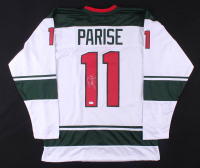 Zach Parise Signed Jersey (TSE COA) at PristineAuction.com