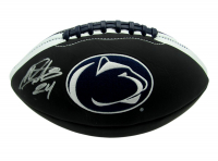 Miles Sanders Signed Penn State Nittany Lions Logo Football (JSA COA) at PristineAuction.com