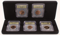 2005 Ultimate Sacagawea ICG Graded Coin Collection Set with (2) 2005-P, (2) 2005-D, & (1) 2005-S With Display Case at PristineAuction.com