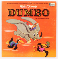 "1965 Original Walt Disney's ""Dumbo"" Vinyl LP Record Album at PristineAuction.com"
