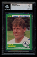 Troy Aikman 1989 Score #270 RC (BGS 9) at PristineAuction.com