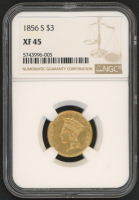 1856-S $3 Gold Coin (NGC XF 45) at PristineAuction.com