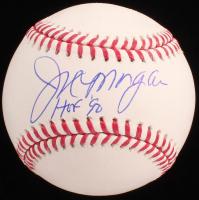 "Joe Morgan Signed OML Baseball Inscribed ""HOF 90"" (JSA COA) at PristineAuction.com"