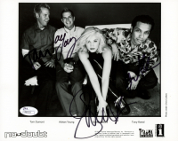 No Doubt Band-Signed 8x10 Photo with Gwen Stefani, Tony Kanal, Tom Dumont & Adrian Young (JSA COA) at PristineAuction.com
