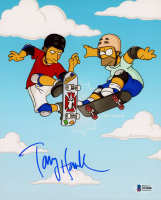 "Tony Hawk Signed ""The Simpsons"" 8x10 Photo (Beckett COA) at PristineAuction.com"
