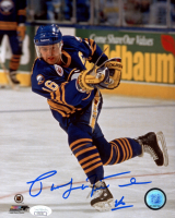 Pat LaFontaine Signed Sabres 8x10 Photo (JSA COA) at PristineAuction.com