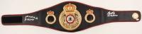 "Roberto Duran Signed World Boxing Association Belt Inscribed ""Manos de Piedra"" (Beckett COA) at PristineAuction.com"