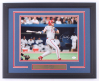 John Kruk Signed Phillies 18x22.5 Custom Framed Photo Display (JSA COA) at PristineAuction.com