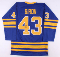 Martin Biron Signed Jersey (JSA COA) at PristineAuction.com