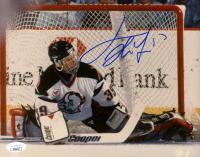 Dominik Hasek Signed Predators 8x10 Photo (JSA COA) at PristineAuction.com
