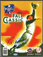 "Derek Jeter Signed Yankees 2000 World Series Program Inscribed ""00 WS MVP"" (Steiner COA) at PristineAuction.com"