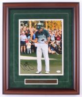 Sergio Garcia Signed PGA 19x23 Custom Framed Photo Display (JSA COA) at PristineAuction.com