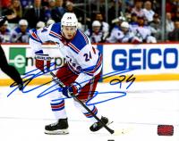 Kaapo Kakko Signed Rangers 8x10 Photo (YSMS COA) at PristineAuction.com