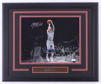 JJ Redick Signed 76ers 18.5x22.5 Custom Framed Photo Display (JSA COA) at PristineAuction.com