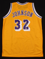 Magic Johnson Signed Jersey (PSA Hologram) at PristineAuction.com