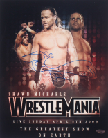 """Shawn Michaels Signed WWE 11x14 Photo Inscribed """"HBK"""" (Playball Ink Hologram) at PristineAuction.com"""