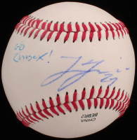 "Lucas Giolito Signed OL Baseball Inscribed ""Go ChiSox!"" (JSA COA) at PristineAuction.com"