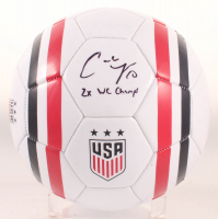 "Carli Lloyd Signed Team USA Soccer Ball Inscribed ""2x WC Champs"" (JSA COA) at PristineAuction.com"