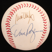 Baseball Signed By (5) With Roger Craig, Kirk Gibson, Milt May, Dave Rozema (Sports Cards LOA) at PristineAuction.com
