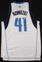 Dirk Nowitzki Signed Mavericks Jersey (JSA COA) at PristineAuction.com