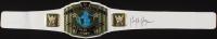 Hulk Hogan Signed WWE Intercontinental Heavyweight Champion Wrestling Belt (JSA COA) at PristineAuction.com