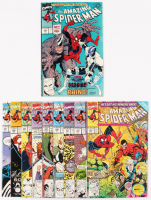 "Consecutive Run of (10) 1990-91 ""The Amazing Spider-Man"" Marvel Comic Books with #338-#347 at PristineAuction.com"