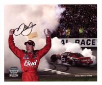Dale Earnhardt Jr. Signed LE NASCAR 8.5x10 Photo (Mounted Memories Hologram & Earnhardt Jr. Hologram) at PristineAuction.com