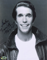 """Henry Winkler Signed """"Happy Days"""" 8x10 Photo With Inscription (MAB Hologram) at PristineAuction.com"""