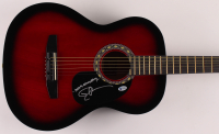 """Dustin Lynch Signed 39"""" Acoustic Guitar Inscribed """"Stay Country"""" (Beckett COA) at PristineAuction.com"""
