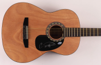 """Carrie Underwood Signed 38"""" Acoustic Guitar (Beckett COA) at PristineAuction.com"""