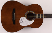 "Michael Nesmith Signed 38"" Acoustic Guitar (JSA COA) at PristineAuction.com"