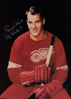 "Gordie Howe Signed Red Wings 8x10 Print Inscribed ""Mr. Hockey"" (PSA COA) at PristineAuction.com"