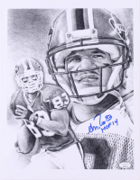 """Andre Reed Signed Bills 11.75x15.75 Lithograph Inscribed """"HOF 14"""" (JSA COA) at PristineAuction.com"""