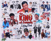 """Jerry Lewis Signed """"The King of Comedy"""" 8x10 Photo (MAB Hologram) at PristineAuction.com"""