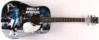 """Nick Foles Signed 41"""" Acoustic Guitar (JSA Hologram) at PristineAuction.com"""